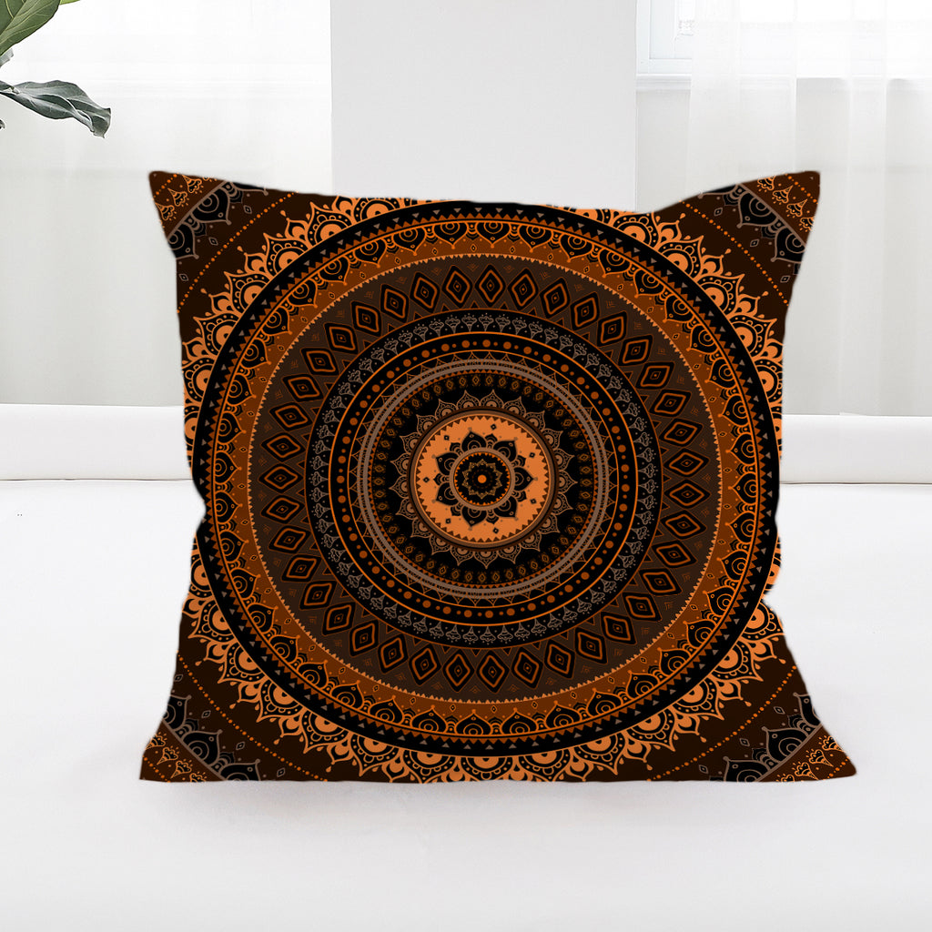 Sunset Square Cushion Cover