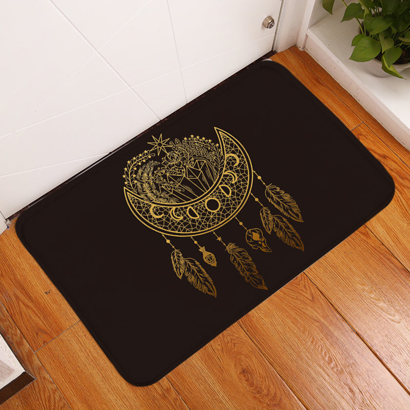 Dark Nights Floor Mat - Bohemian Vibes Australia