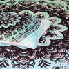 Mehndi Quilt Cover Set
