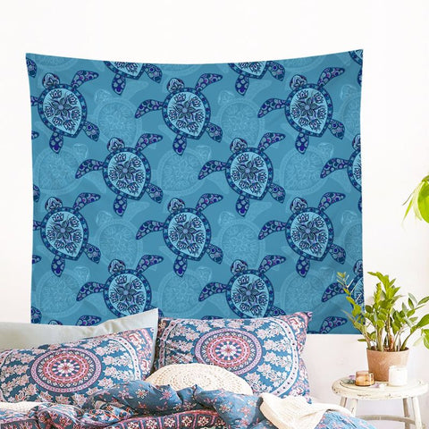 Sea Turtle Wall Tapestry (PRE-ORDER)