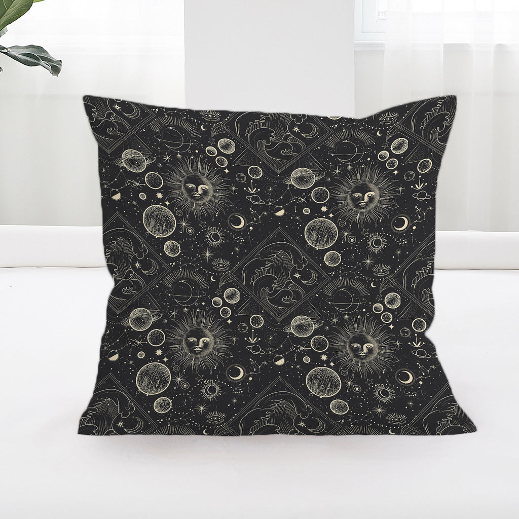 Astrology Square Cushion Cover - Bohemian Vibes Australia