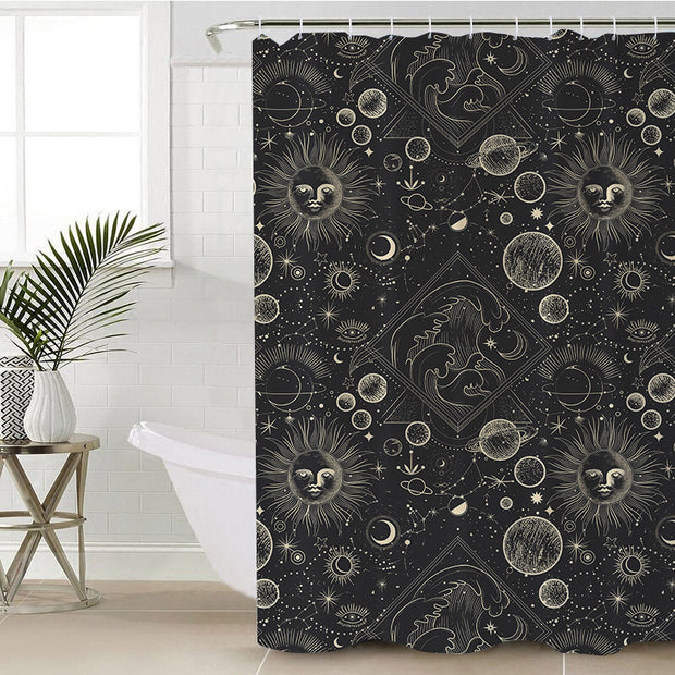 Astrology Shower Curtain