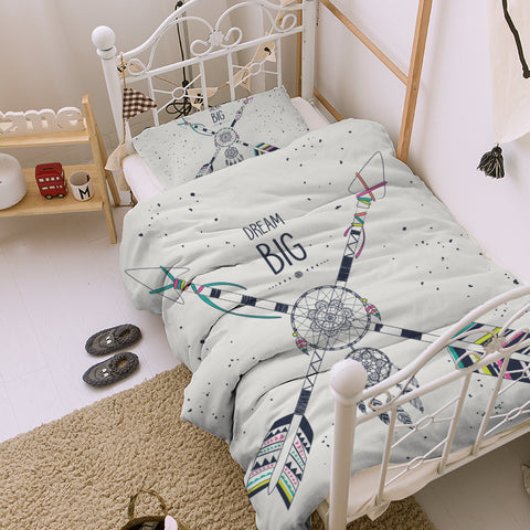 Dream Big Kids Quilt Cover Set