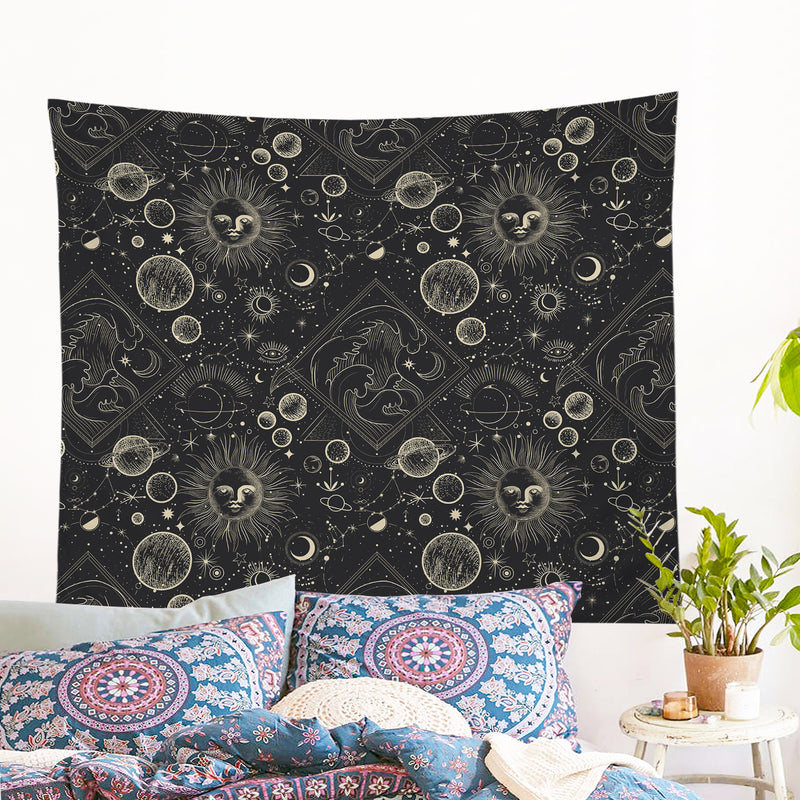Astrology Wall Tapestry - Bohemian Vibes Australia