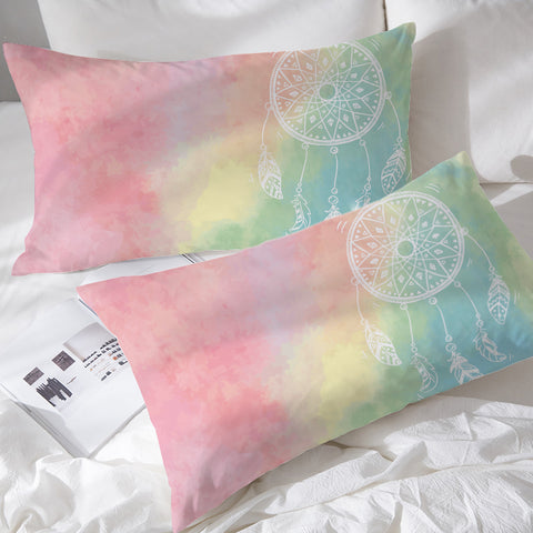 Rainbow Bohemian Dreams Pillowcases