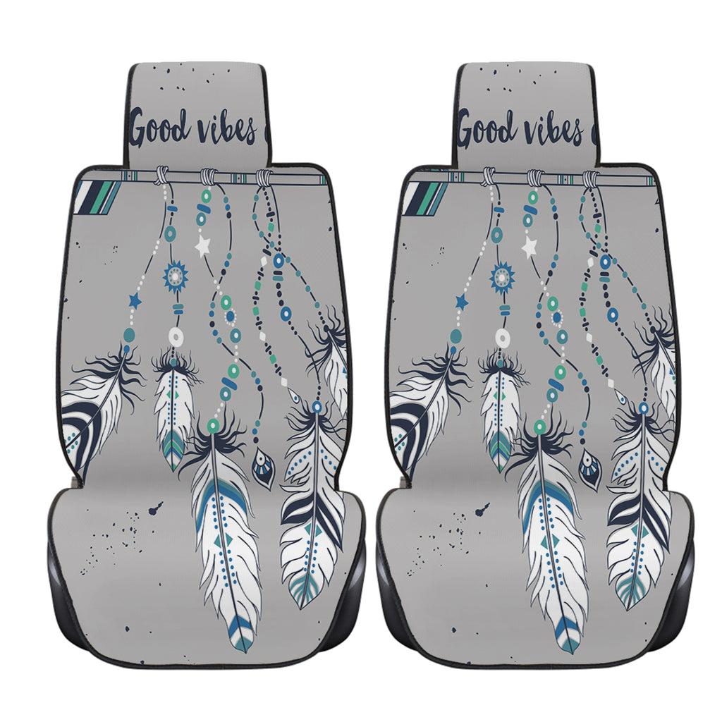 Good Vibes Only Blue Car Seat Cover - Bohemian Vibes Australia