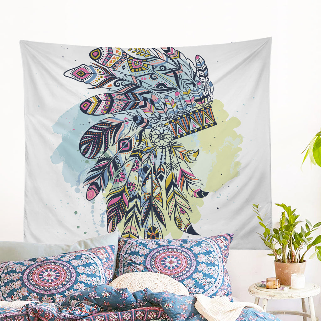Wild Child Wall Tapestry - Bohemian Vibes Australia
