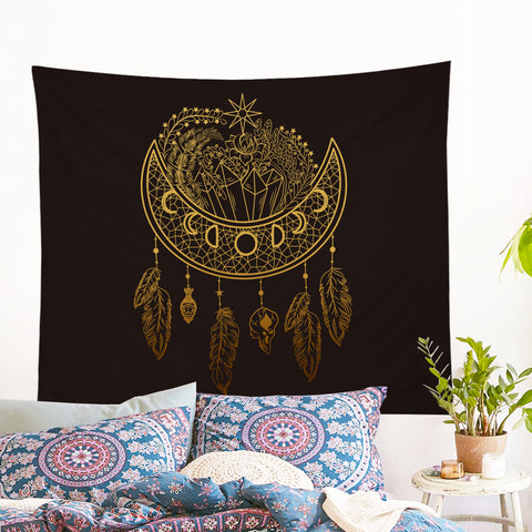 Dark Nights Wall Tapestry