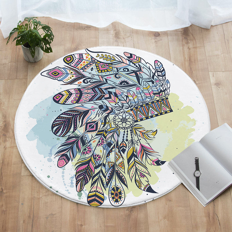 Wild Child Round Floor Mat