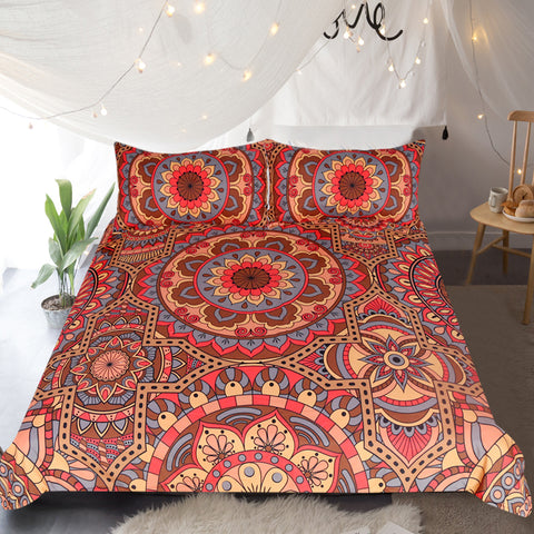 Sahara Quilt Cover Set