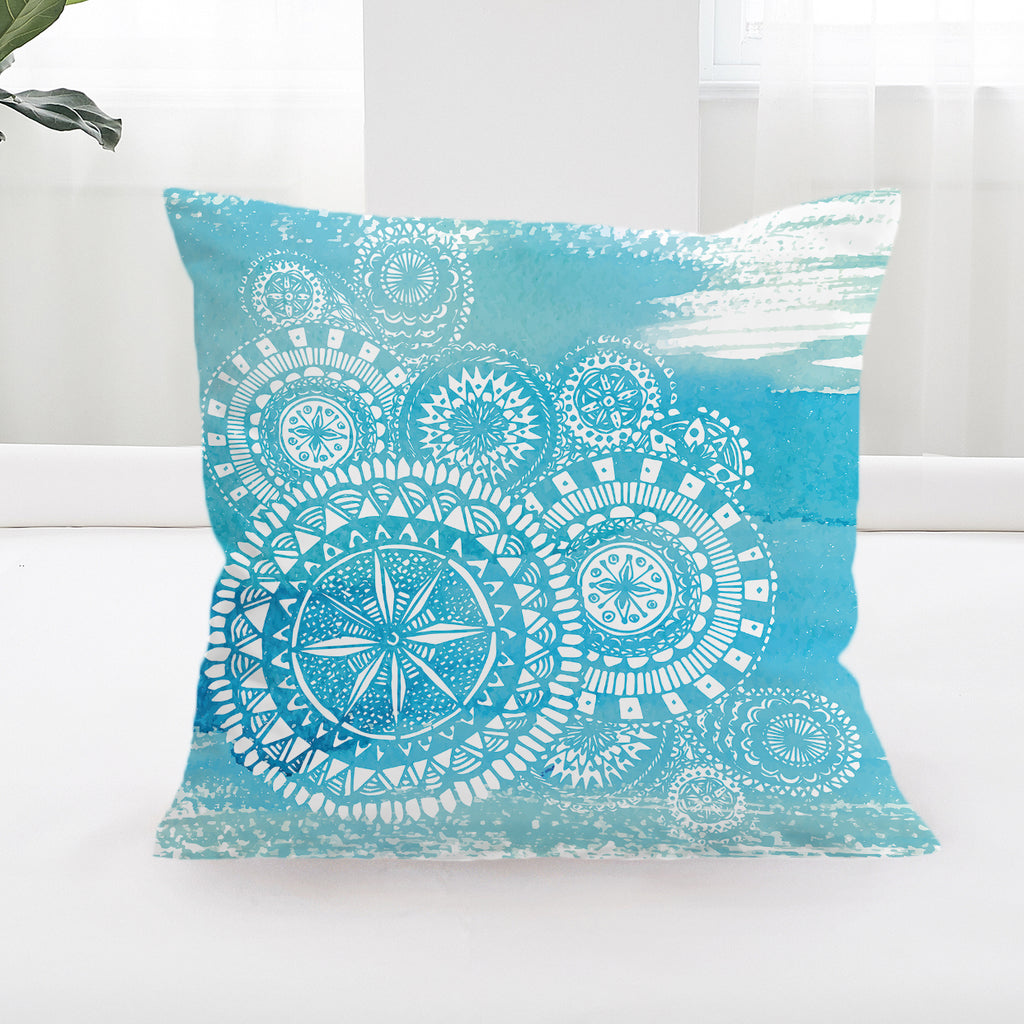 Deep Sea Cushion Cover - Bohemian Vibes Australia