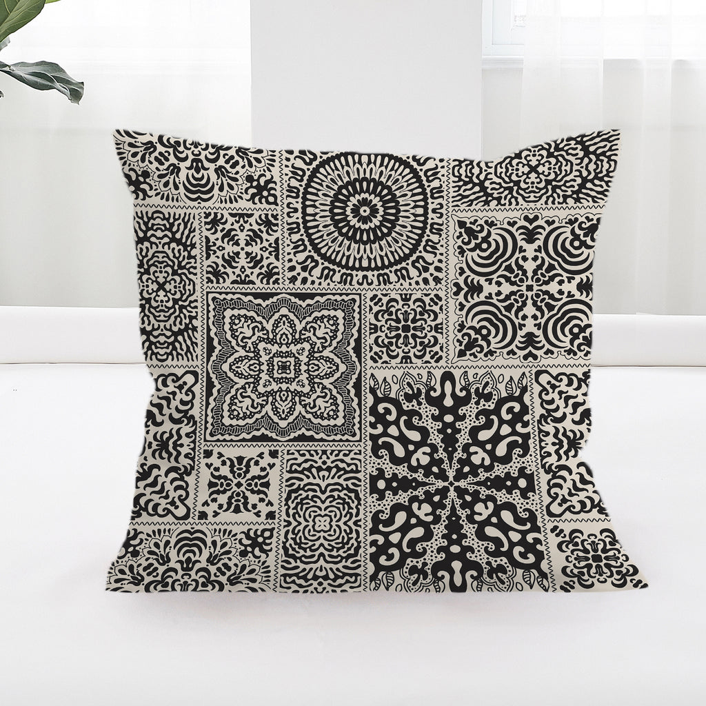 Luxe Square Cushion Cover - Bohemian Vibes Australia