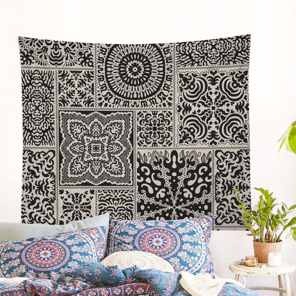 Luxe Tapestry Wall Hanging - Bohemian Vibes Australia