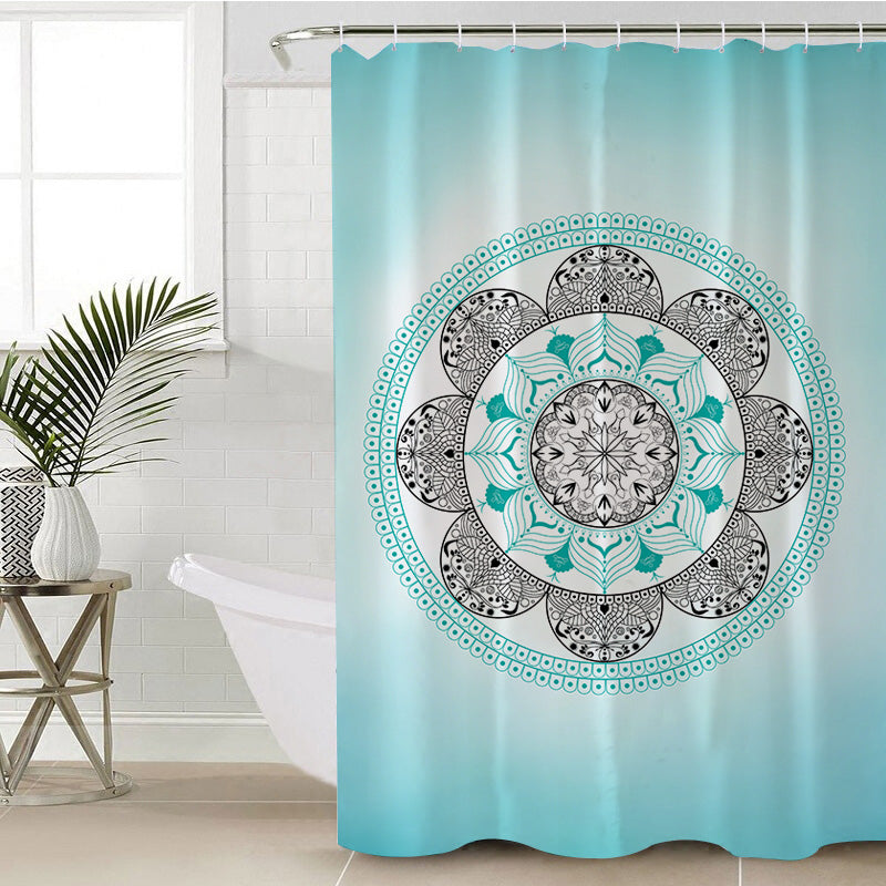 Namaste Ombre Shower Curtain (PRE-ORDER)