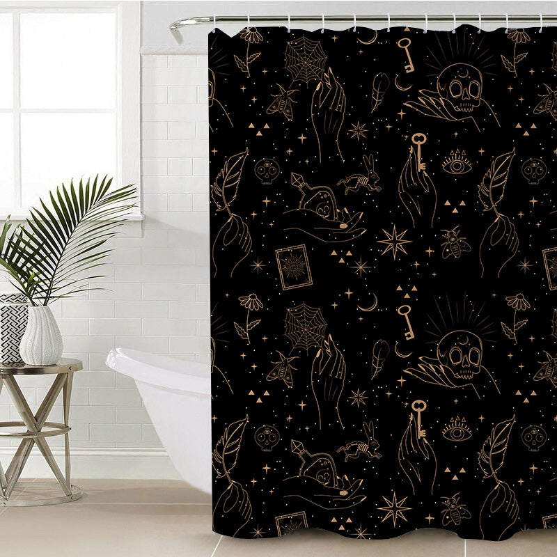Spell Bound Shower Curtain - Bohemian Vibes Australia