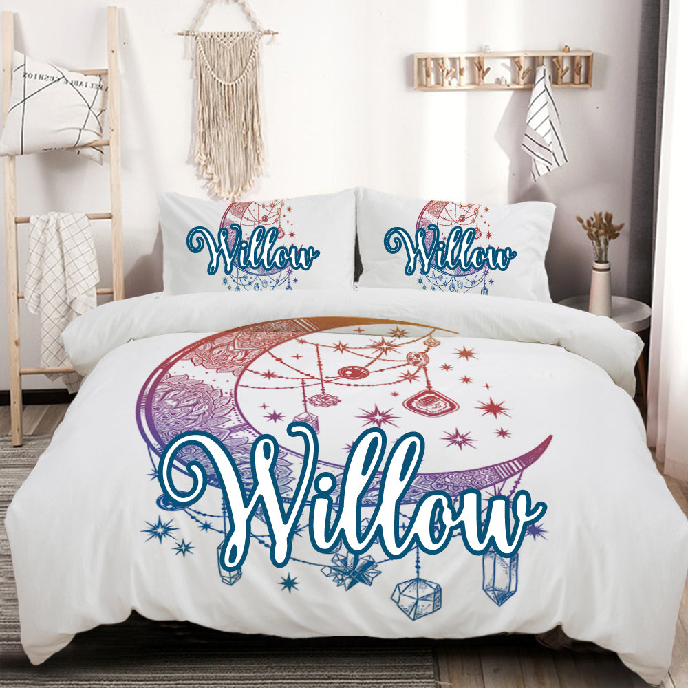 Customised Crystal Nights Quilt Cover Set - Bohemian Vibes Australia
