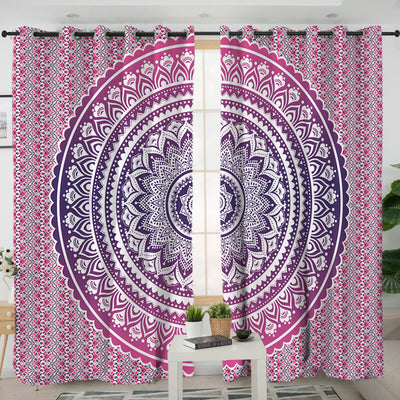 Pink Ombre Curtains
