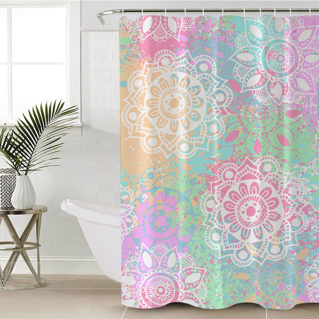 Wild and Free Shower Curtain - Bohemian Vibes Australia