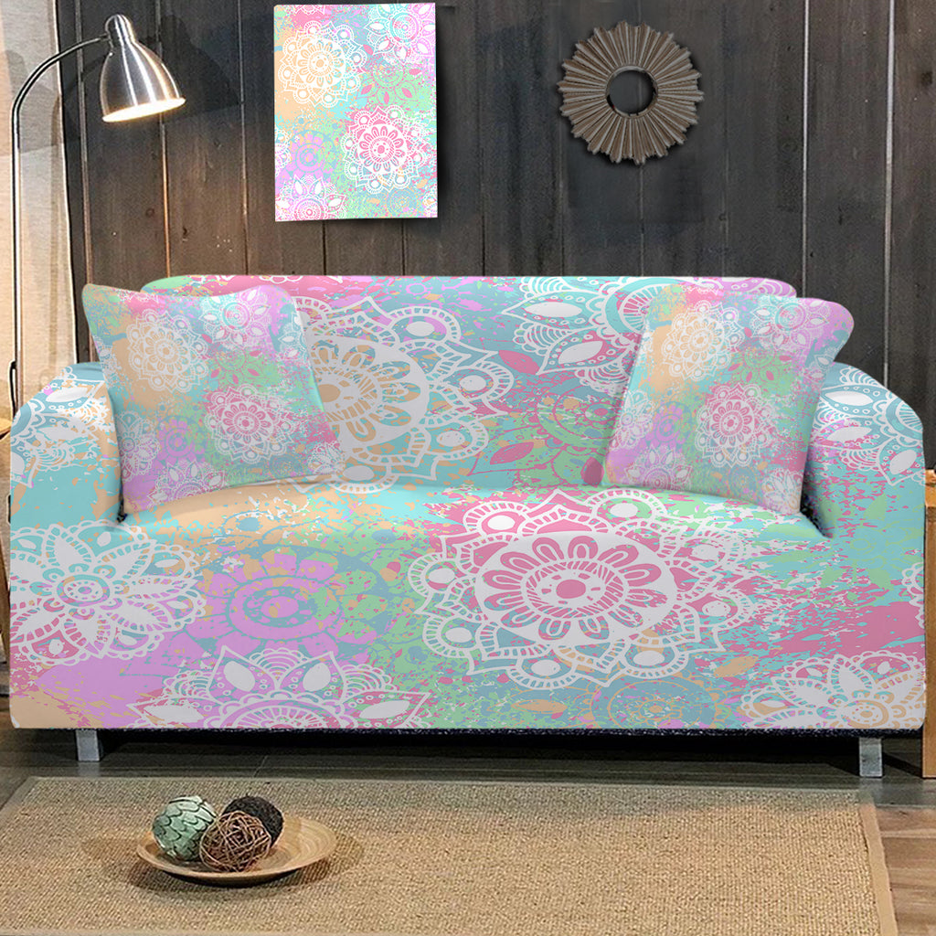 Wild and Free Sofa Cover - Bohemian Vibes Australia