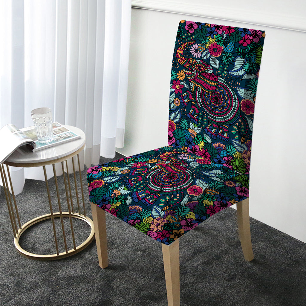 Tropical Elephant Chair Cover - Bohemian Vibes Australia