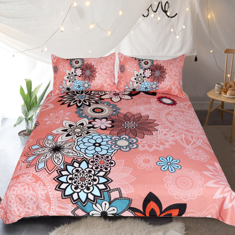 Coral Quilt Cover Set *LIMITED EDITION*