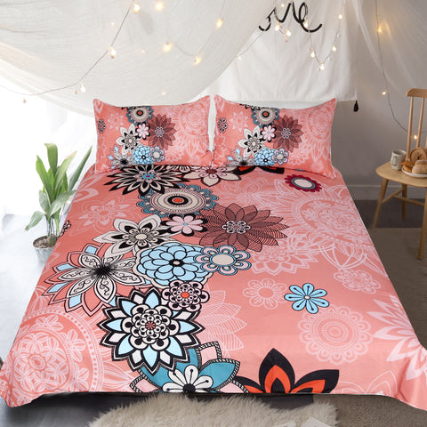 Coral Quilt Cover Set **LIMITED EDITION**