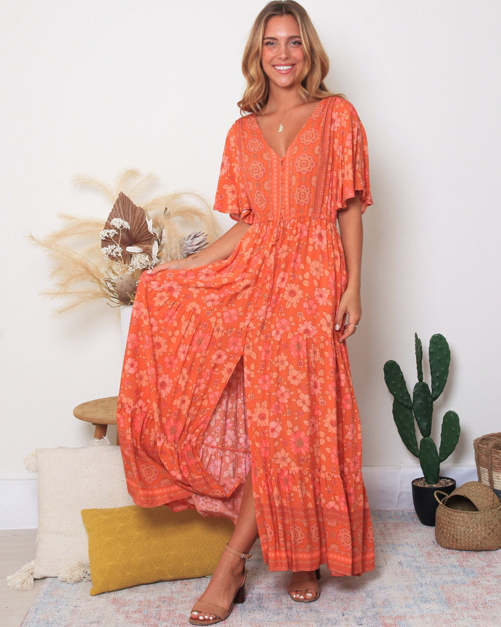 Nancie Maxi Dress - Bohemian Vibes Australia