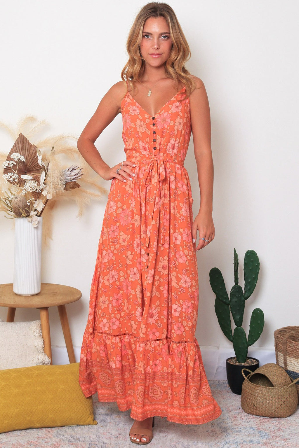 Nancie Slip Dress - Bohemian Vibes Australia