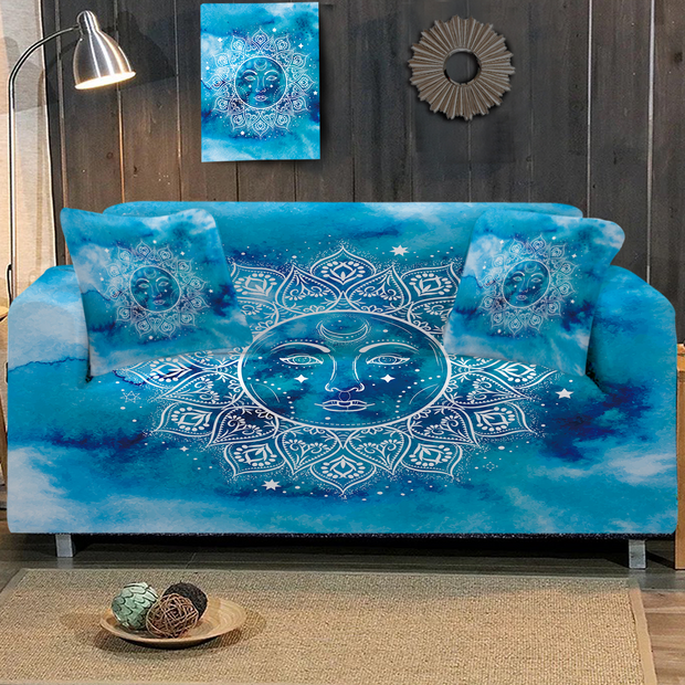 Mandala Sun Sofa Cover