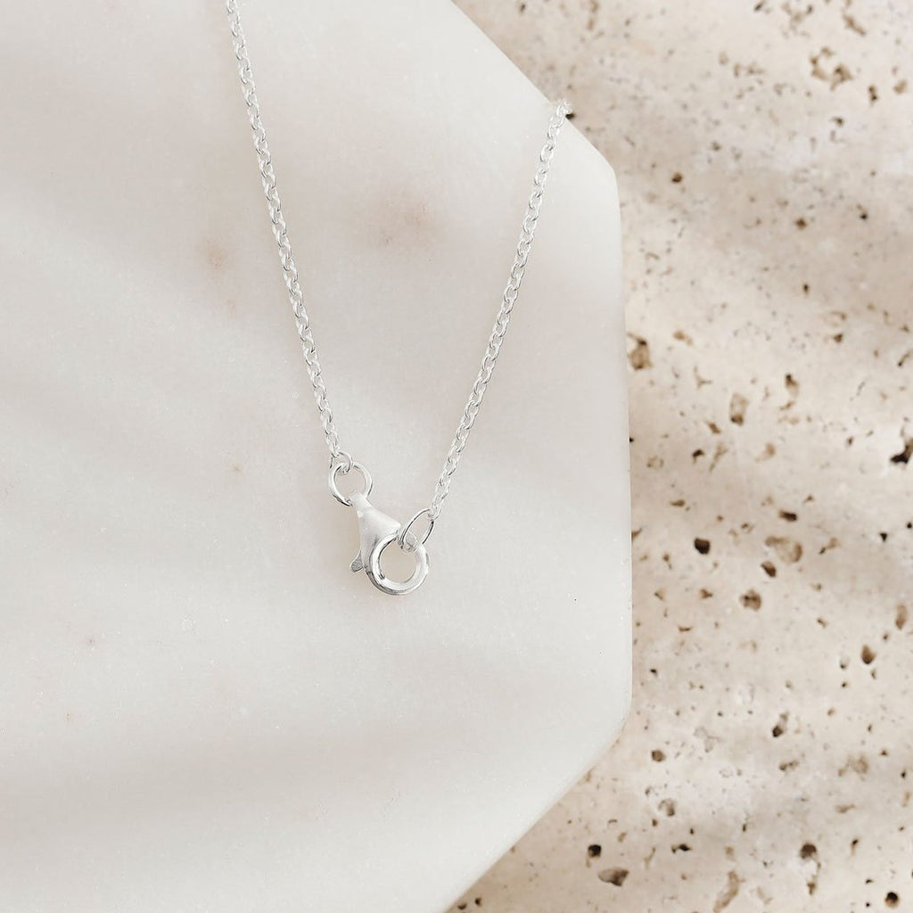 Dainty Seashell Necklace - 925 sterling silver - Bohemian Vibes Australia