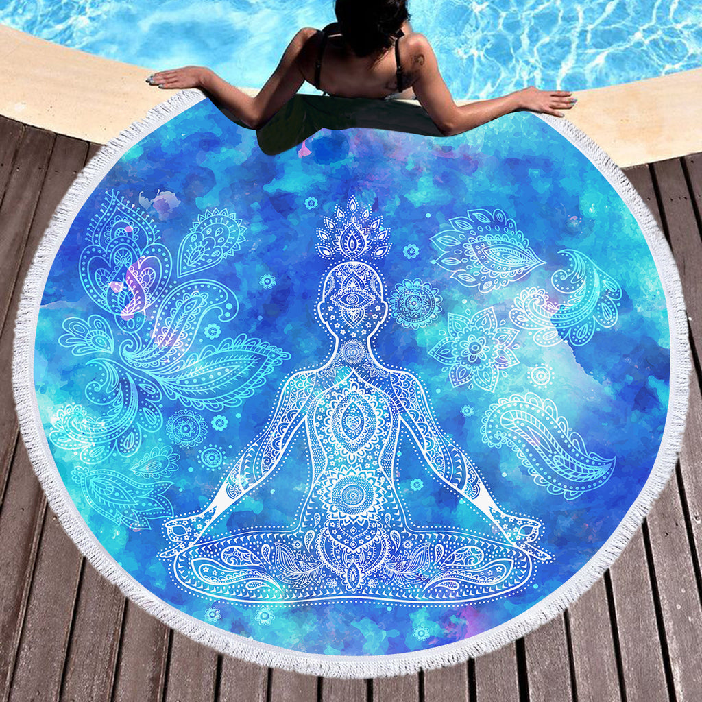 Mantra Throw / Beach Towel - Bohemian Vibes Australia