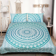Mermaid Mandala Quilt Cover Set