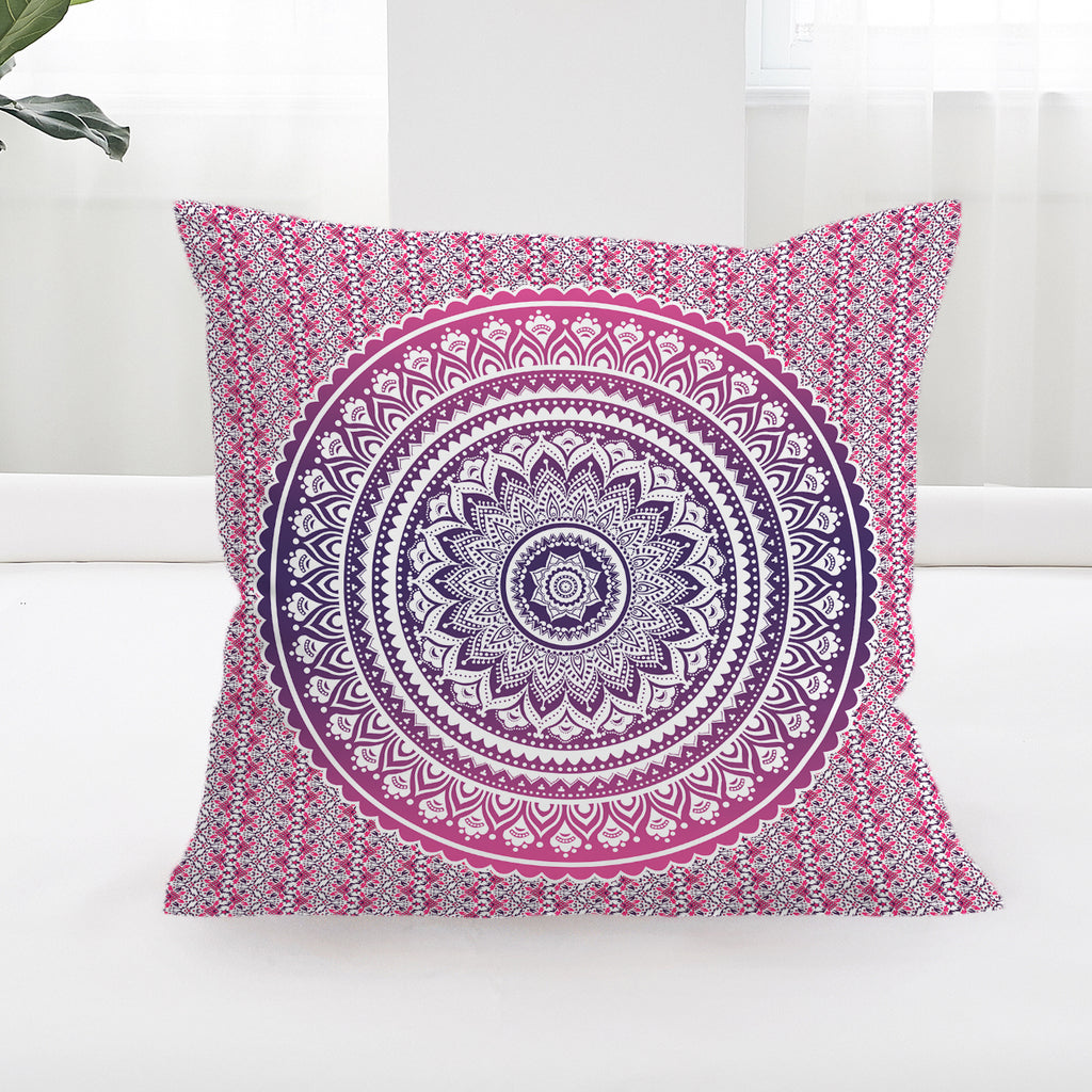 Pink Ombre Cushion Cover - Bohemian Vibes Australia