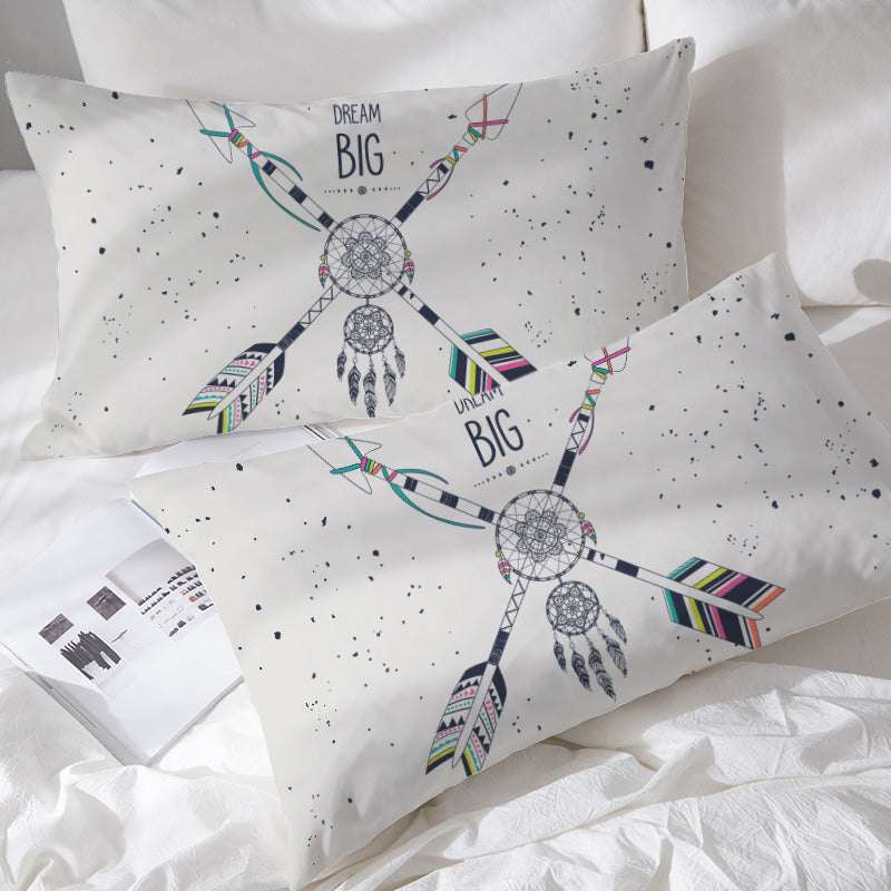 Dream Big Pillowcases - Bohemian Vibes Australia