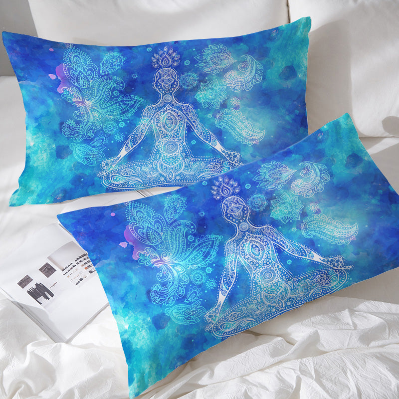 Mantra Pillowcases - Bohemian Vibes Australia