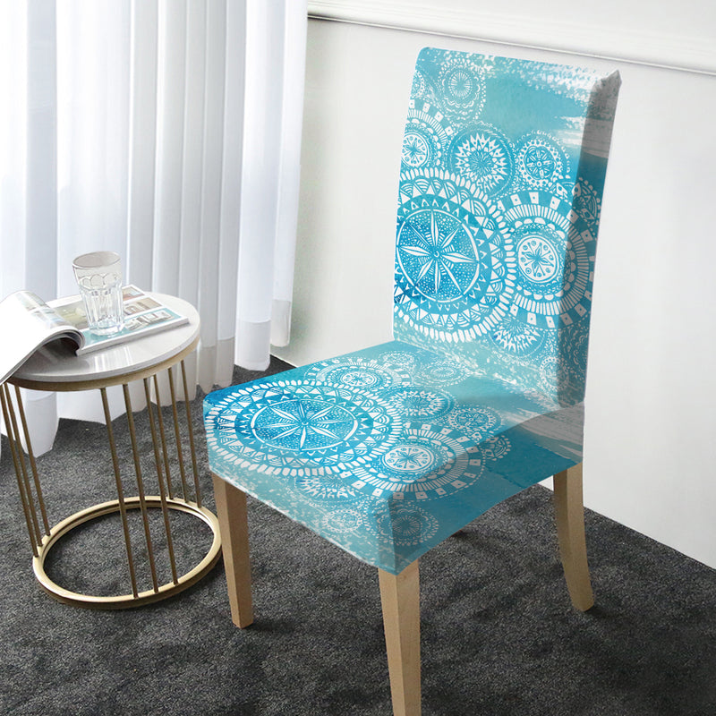 Deep Sea Chair Cover - Bohemian Vibes Australia