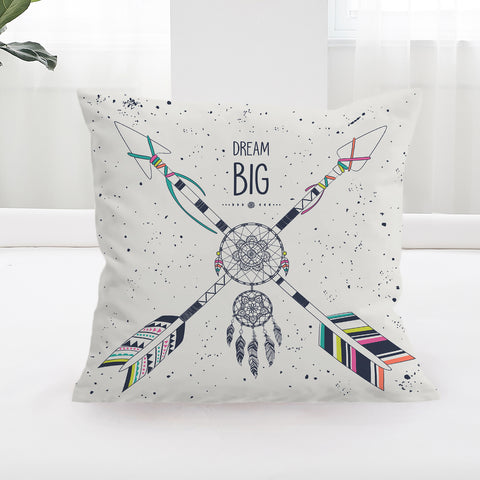 Dream Big Square Cushion Cover