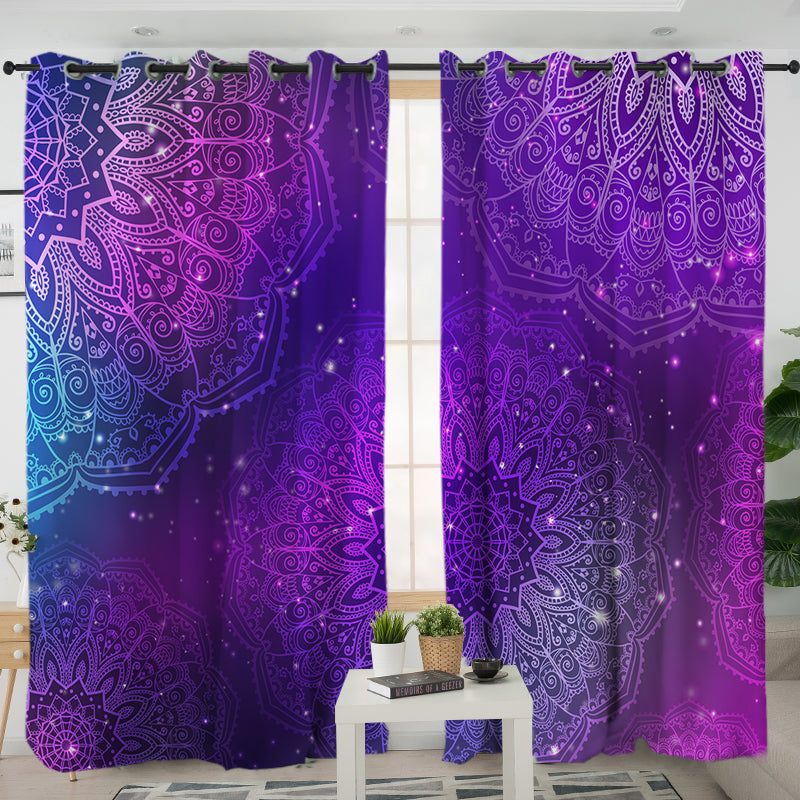 Star Gazing Curtains - Bohemian Vibes Australia