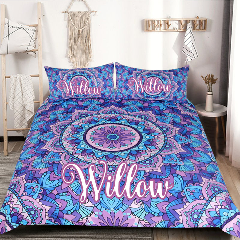 Personalised Wanderlust Quilt Cover Set - Bohemian Vibes Australia