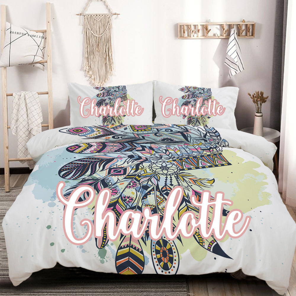 Customised Wild Child Quilt Cover Set - Bohemian Vibes Australia