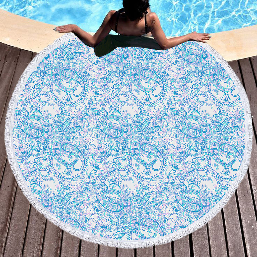 Paisley Throw / Beach Towel - Bohemian Vibes Australia
