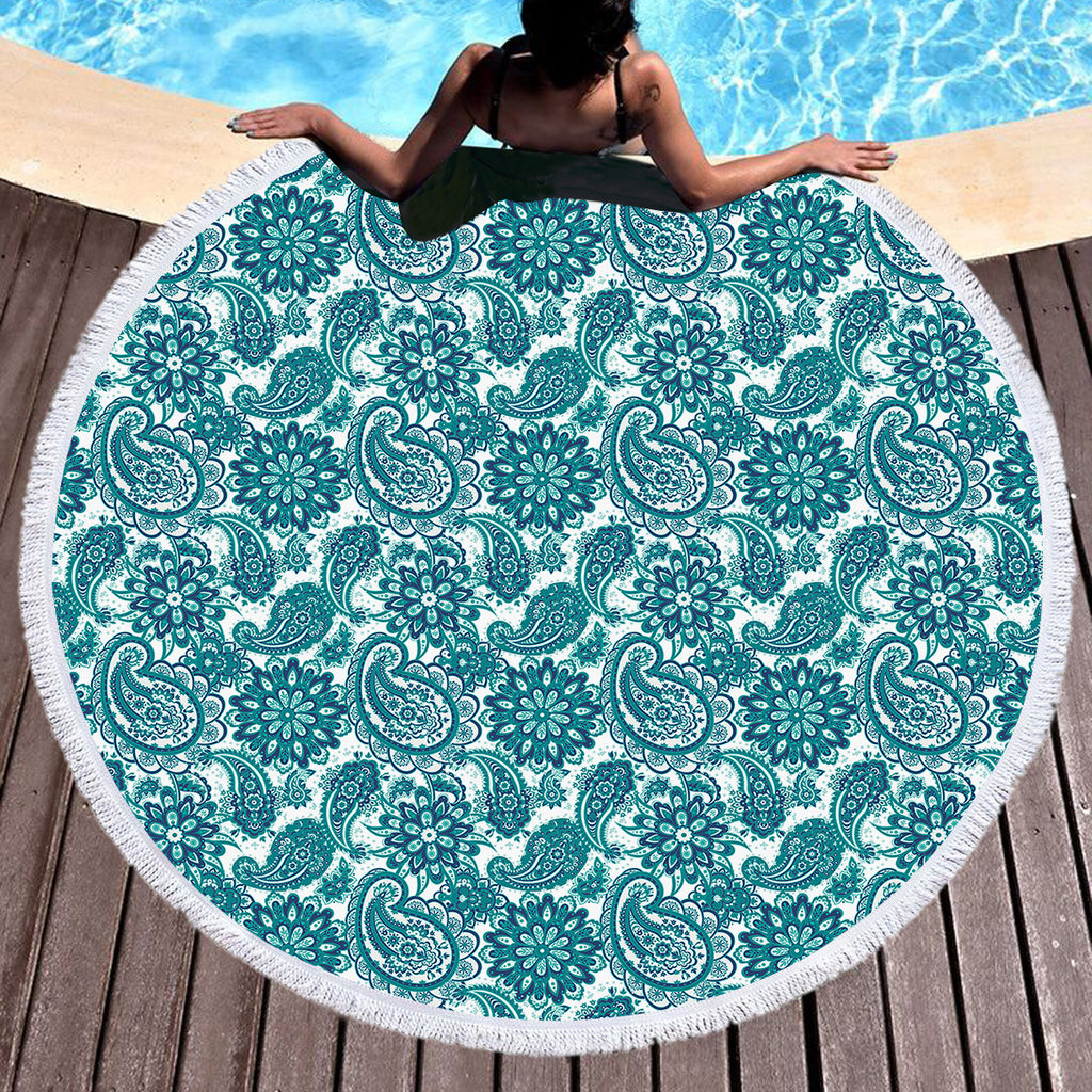 Clover Throw / Beach Towel - Bohemian Vibes Australia
