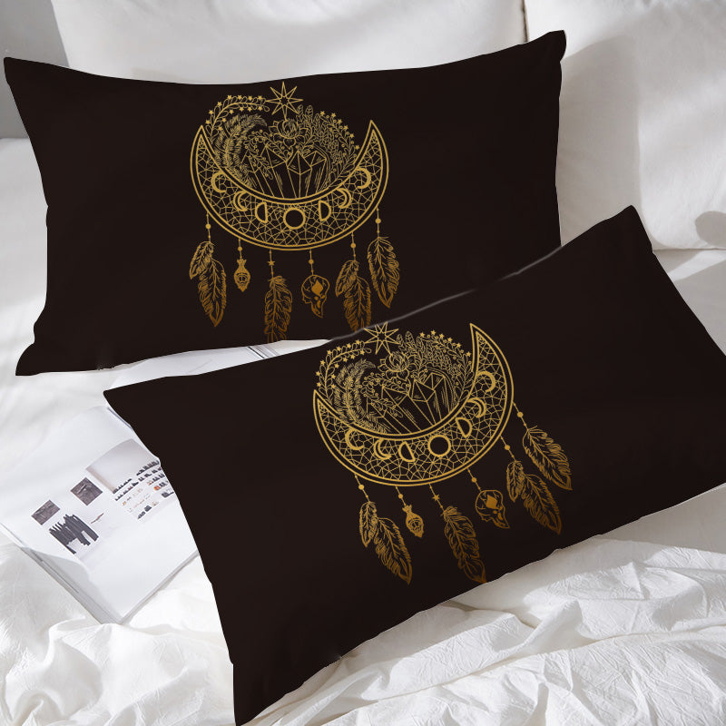 Dark Nights Pillowcases - Bohemian Vibes Australia