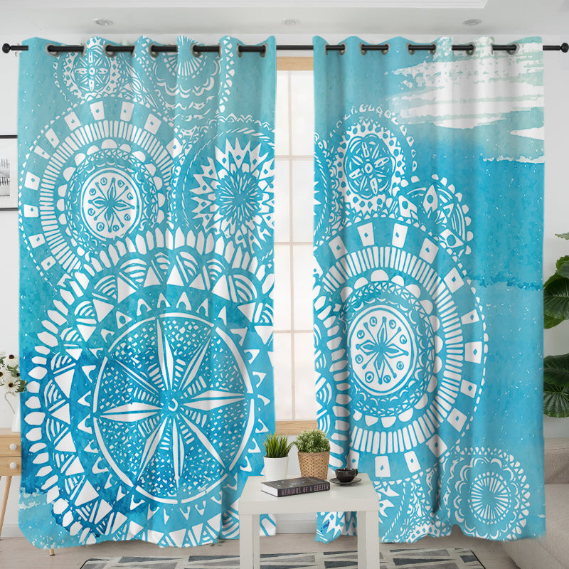 Deep Sea Curtains - Bohemian Vibes Australia