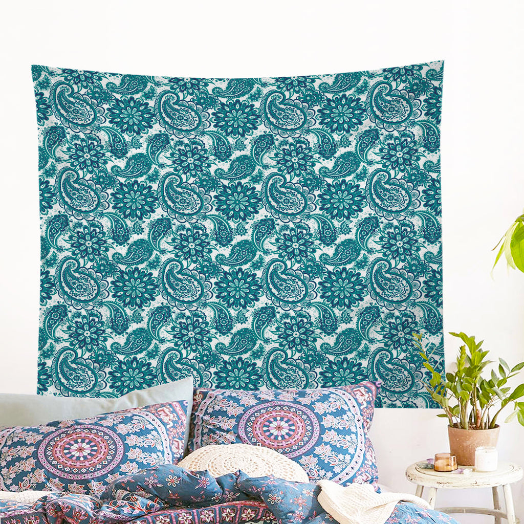 Clover Wall Tapestry - Bohemian Vibes Australia