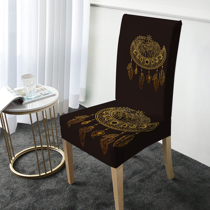 Dark Nights Chair Cover - Bohemian Vibes Australia