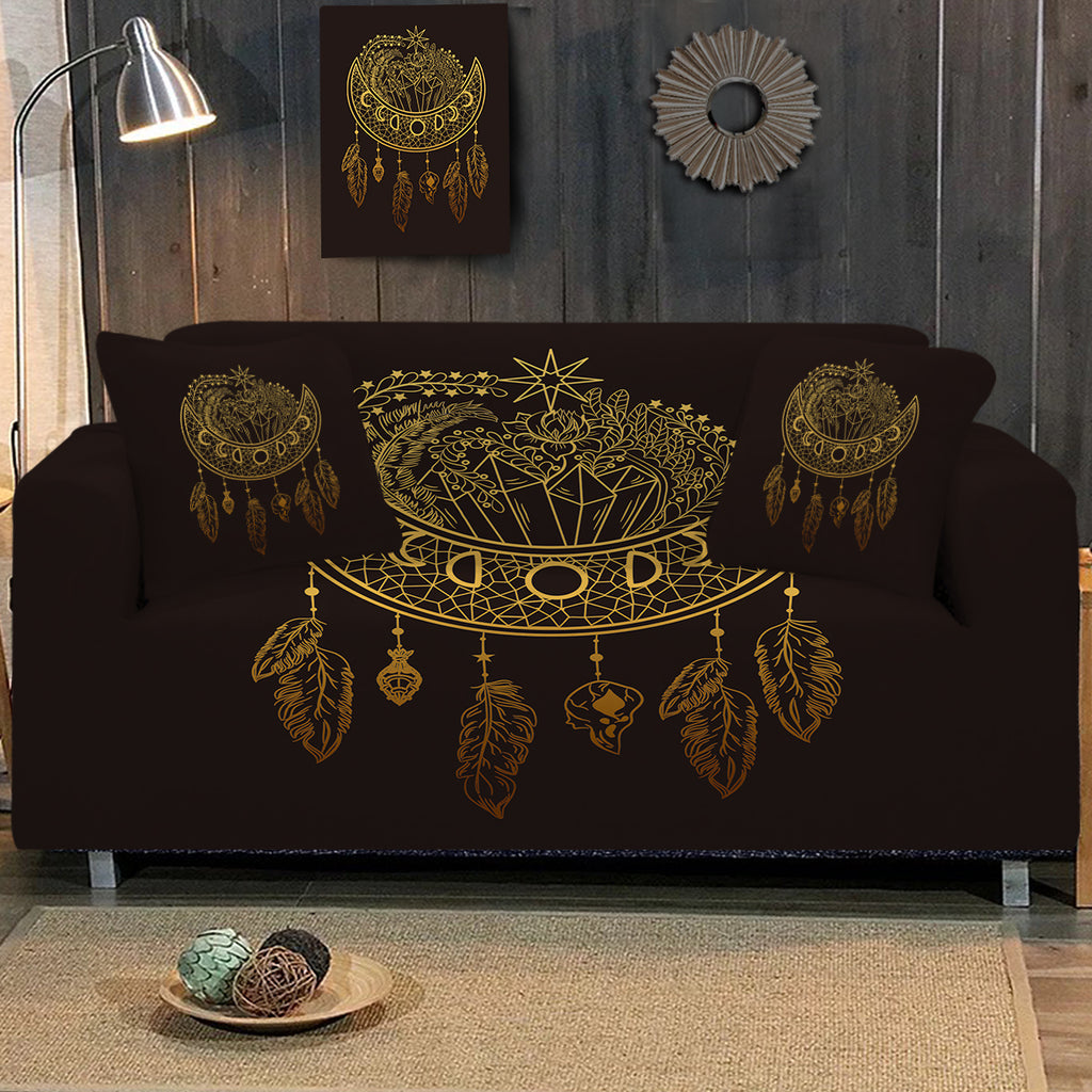 Dark Nights Sofa Cover - Bohemian Vibes Australia