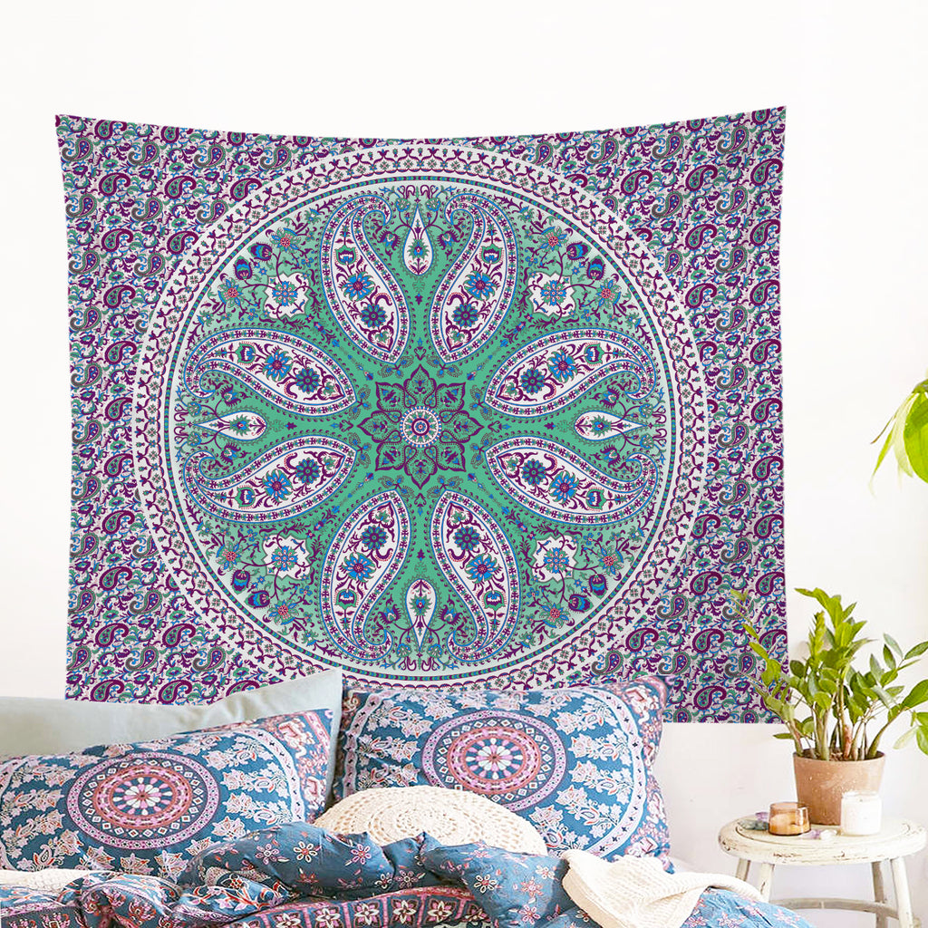 Gentle Spirit Wall Tapestry - Bohemian Vibes Australia
