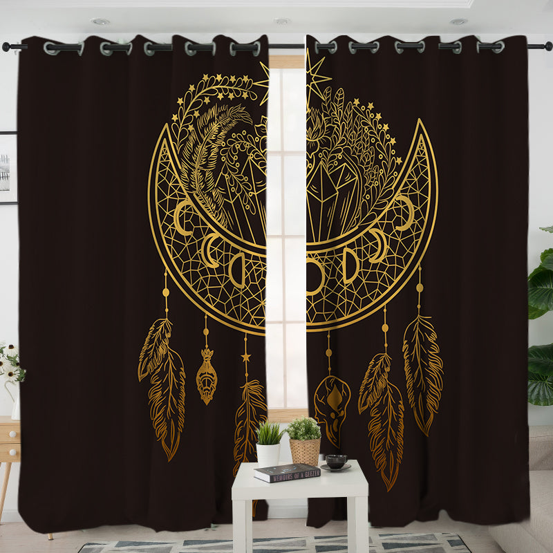 Dark Nights Curtains - Bohemian Vibes Australia