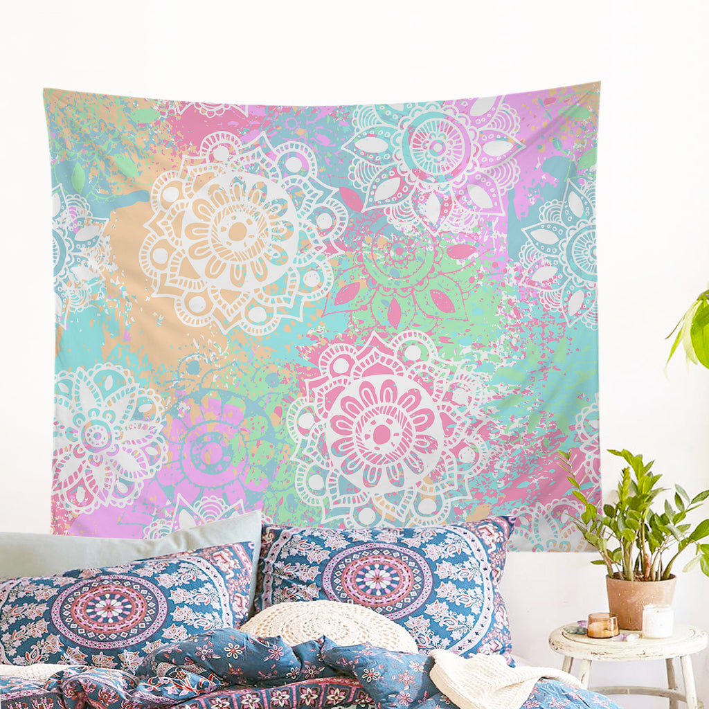 Wild and Free Wall Tapestry - Bohemian Vibes Australia